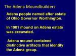 the adena moundbuilders9