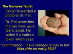 the genesee tablet31