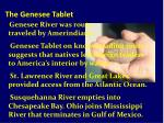 the genesee tablet32