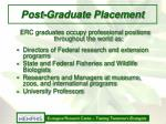 post graduate placement
