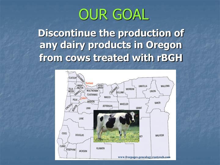 Our goal