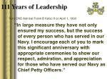 111 years of leadership4