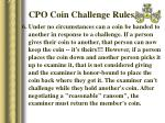 cpo coin challenge rules32