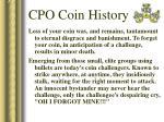 cpo coin history29