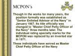 mcpon s