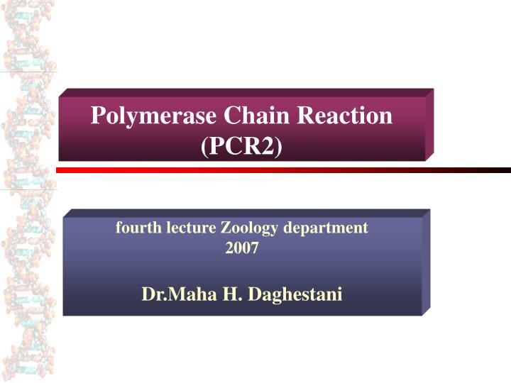 polymerase chain reaction pcr2 n.