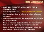 third level design