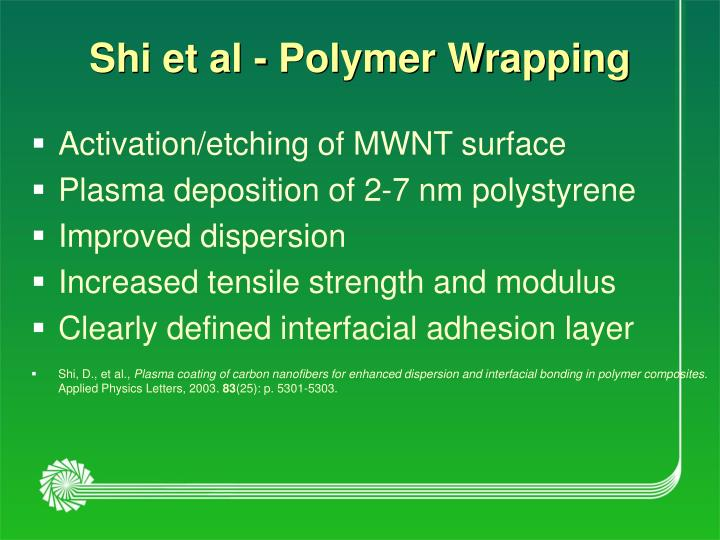 Shi et al - Polymer Wrapping
