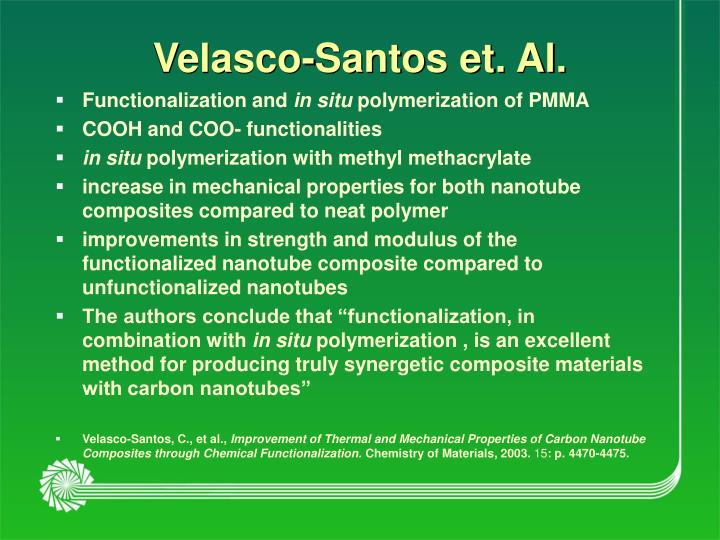 Velasco-Santos et. Al.