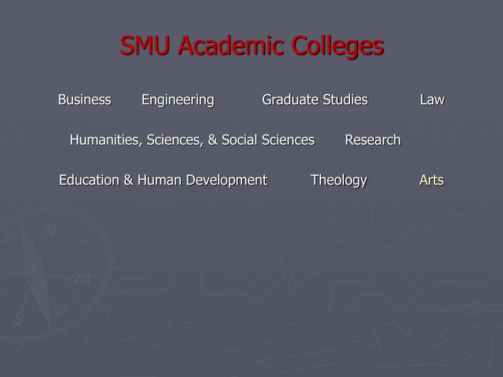 SMU Academic Colleges