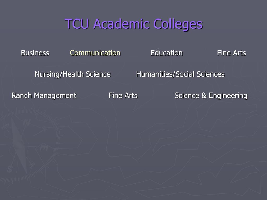 TCU Academic Colleges