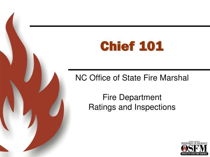 chief 101 n.