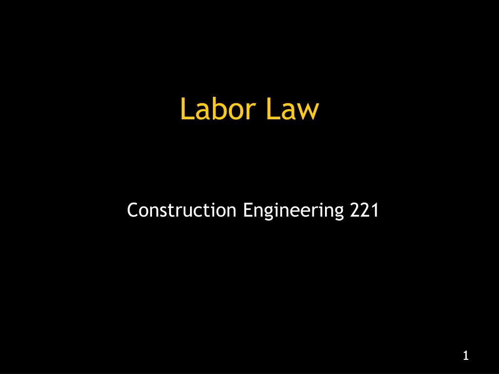 labor law l.