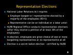 representation elections