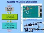 reality training simulator