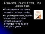 erica jong fear of flying the zipless fuck