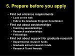 5 prepare before you apply14