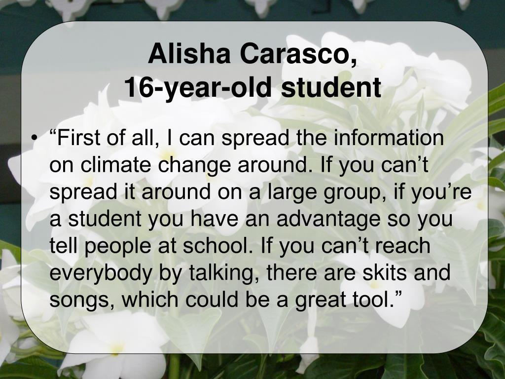 Alisha Carasco,