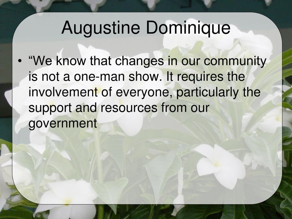 Augustine Dominique