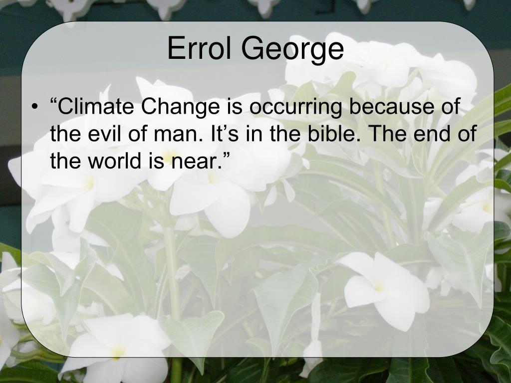 Errol George