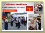 culture et traditions