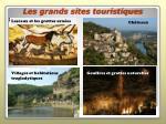 les grands sites touristiques