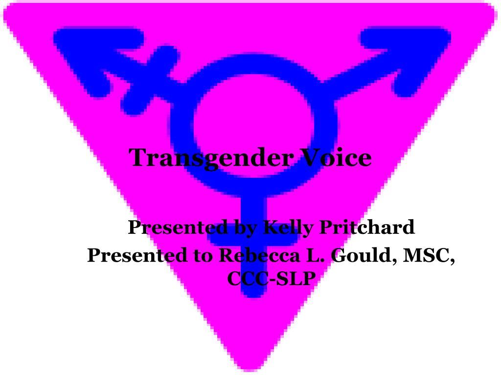 transgender voice l.