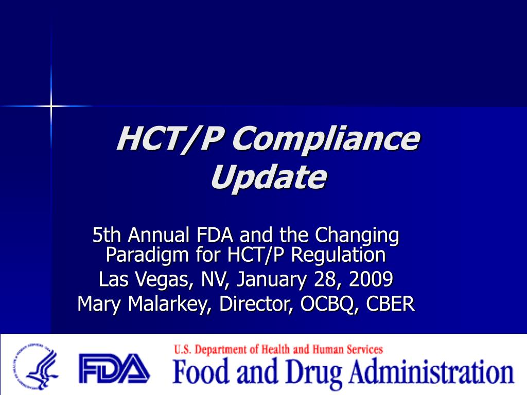 hct p compliance update l.