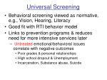 universal screening7