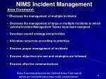 nims incident management