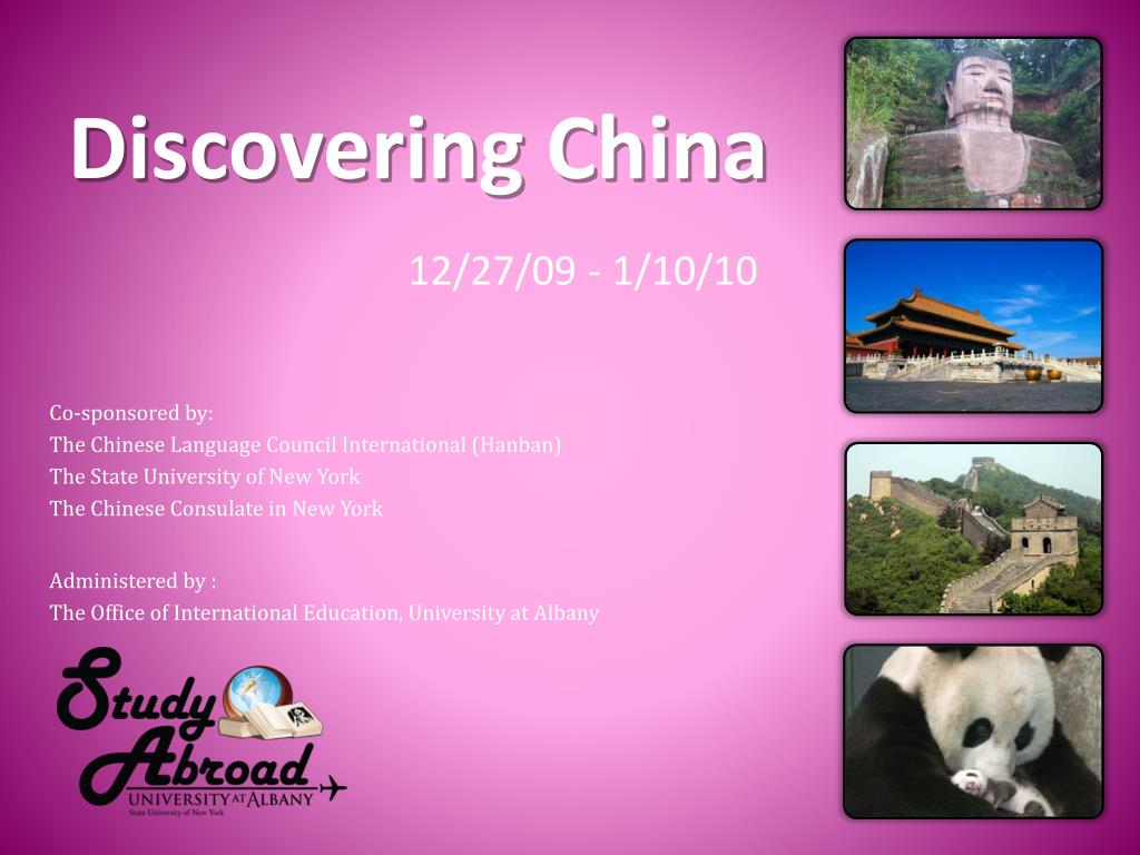 discovering china l.