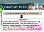 formation et certification25