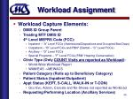 workload assignment