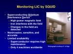monitoring lic by squid