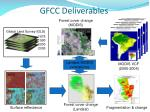 gfcc deliverables