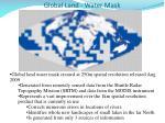 global land water mask
