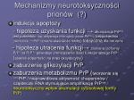 mechanizmy neurotoksyczno ci prion w