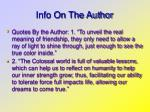 info on the author3