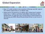 global expansion14