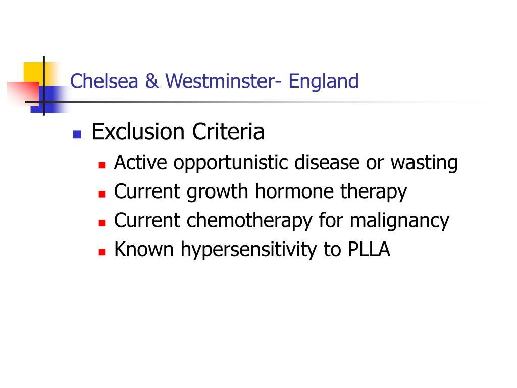 Chelsea & Westminster- England