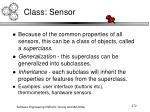 class sensor