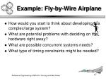 example fly by wire airplane