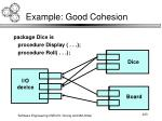 example good cohesion