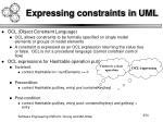 expressing constraints in uml
