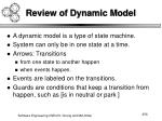 review of dynamic model