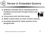 review of embedded systems