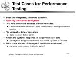 test cases for performance testing