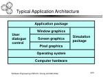typical application architecture