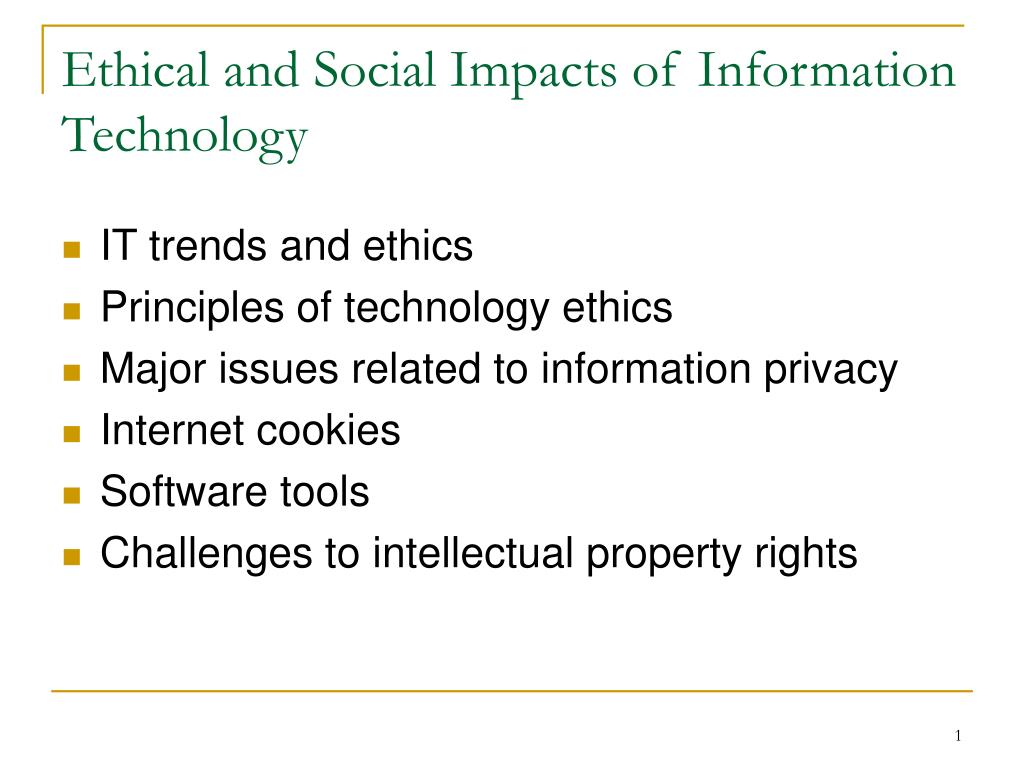 social ethical challenges caused by information technology Electronic networks have allowed exchange of information but it has also come with new challenges chroncom/ethical-dilemma-use-information-technology.