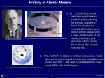 history of atomic models44